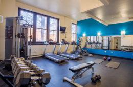 Central High Stephenson Mills fitness center